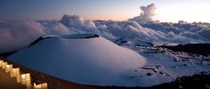 proud to say ive snowboarded down a volcano.. Mauna Kea. Big Island life