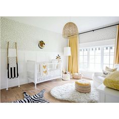 Fantastic baby nursery info are offered on our internet site. Have a look and you wont be sorry you did. Baby Bunting, Yellow Nursery, Nursery Neutral, Neutral Nurseries, Floral Nursery, Project Nursery, Girl Room, Baby Room, White Rooms