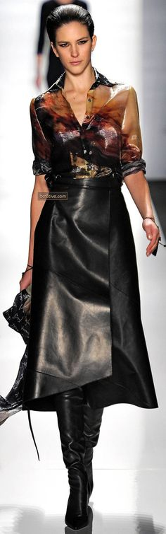 Chado Ralph Rucci 2013 New York Fashion Week pinned by KOONN Fashion...