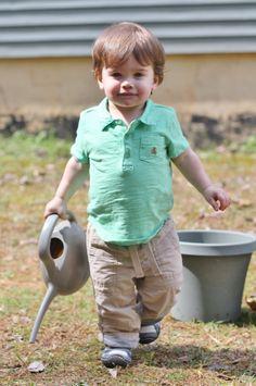 Our Little Gardener
