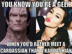 Star Trek meme are epic and super hilarious, we have picked out the best for you to look through. Star Trek Meme, Star Wars, Star Trek Quotes, Deep Space 9, Starship Enterprise, Star Trek Universe, Nerd Humor, Star Trek Voyager, Love Stars