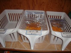 premade snack baskets for each child