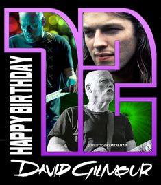 Happy Birthday David Gilmour - 3/6/46