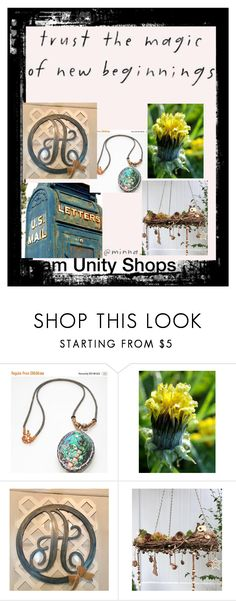 """""""New Beginnings for Etsy Shops for 2018"""" by hvaradhan ❤ liked on Polyvore featuring rustic, Home, jewelry and handicrafts"""