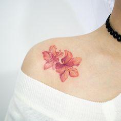 Korean Rosebay by Tattoist Doy