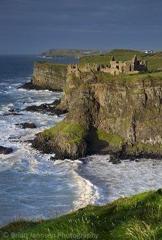 Dunluce Castle, Northern Ireland.  © Brian Jannsen Photography