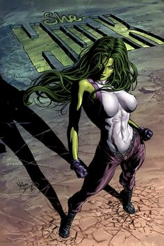 She-Hulk! If they don't a movie for her then I will go to film school, graduate from film school, and make it myself! ;)