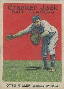 1914 Cracker Jack (E145) #53 Otto Miller Front