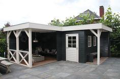 Tuinhuis met heerlijke veranda Jan de Boer Tuinhuizen