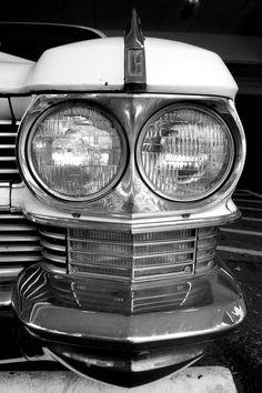 '64 Skull #Cadillac #coolcars QuirkyRides.com