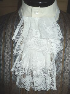 $13 lace jabot- can be ordered in red for Sebastian (need 1-2 weeks to make)