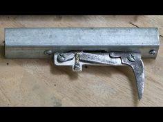 Hammer for homemade airgun - How to make standard hammer assembly - YouTube