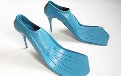 what if i showed up to scuba dive in these lol? it certainly would make walking on land in em easier lol