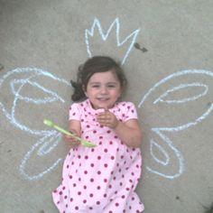 Fairy princess :) cute idea