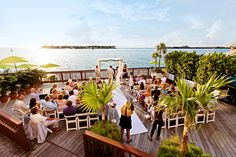 wedding venue in Key West @Leslie Lippi Riemen Ransom this would be gorgeous at sunset!