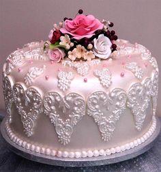 Resultado de imagen de Pretty Birthday Cakes For Women