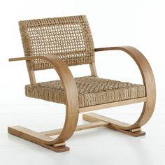 Wisteria - Furniture - Chairs - French Modernist Armchair - $1,199.00 Les chaises de la villa!