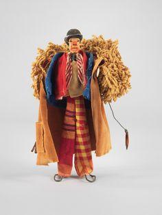 The clown in  Alexandar Calder, Calder's Circus, 1926–31
