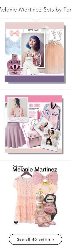 """""""Melanie Martinez Sets by Fans"""" by fashion-nova ❤ liked on Polyvore featuring Chicwish, Charli, R.J. Graziano, PINK BOW, Undercover, Splendid Pearls, RED Valentino, wearwhatyouwatch, musicvideo and Modern Vintage"""