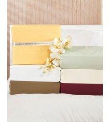 Kimlor Mills 440 TC Solid Sheet Set Sheet Sets, Pillows, Cushion, Cushions, Throw Pillows