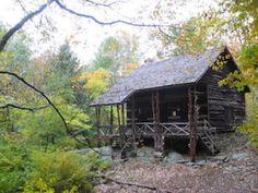 Slabsides Log Cabin