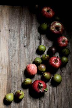 inspiration | apples as wedding favors | via: fork spoon knife