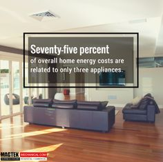 75% of all home energy costs are related to only 3 appliances. Click here to learn how you can save with #Magtek