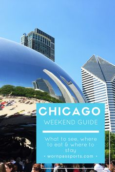 Travel guide to visit Chicago, Illinois, USA: Sample itinerary, advice, and recommendations from real travelers. Visit the Bean, the Signature Lounge, Chicago Architecture Tour & Second City Comedy Club like a pro. Learn about the best place for deep dish pizza, the best place to stay & how to get around.