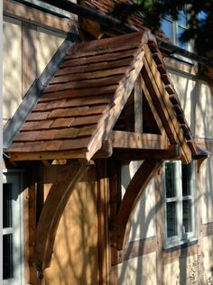 Castle Close Cottage - Border Oak - oak framed houses, oak framed garages and structures. Outside Canopy, Porch Canopy, Door Canopy, Porch Awning, Porch Roof, Cottage Porch, Cottage Style, Timber Frame Homes, Timber Frames