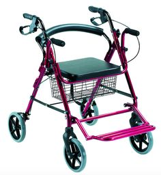 Andador Rollator de Aluminio #ortopedia #andador #caminador #rollator #anciano #movilidad #adultos #mayores #terceraedad #salud #ortopediaparati