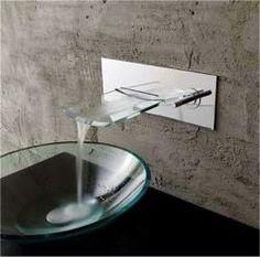@Overstock - Your bathroom becomes a day spa with the addition of this unusual chrome faucet. It is the perfect complement to a glass or stainless steel sink, and the unique design of the piece will make a fan out of anyone who steps foot in your bathroom.http://www.overstock.com/Home-Garden/Kokols-Bath-Glass-Wall-mounted-Waterfall-Chrome-Faucet/6228203/product.html?CID=214117 $153.37