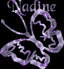 Nadine name graphics