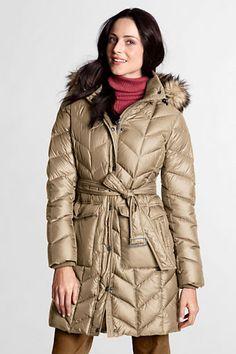 decb63bb5aa Women s Cire Down Coat from Lands  End  WishPinWin 89.99 Boys Rain Jacket