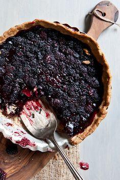 Blackberry Summer Ale Pie