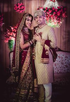 #WeddingSutraP2W A traditional historical inspired lehenga from Karol Bagh Saree House for Bride Ambira Kumar of WeddingSutra. Photo Courtesy - Manas Saran