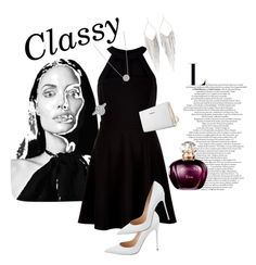 """""""Classy"""" by h3llo6 on Polyvore featuring New Look, Gianvito Rossi, Trussardi and Jules Smith"""