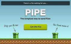 Pipe first Facebook application for file transfers
