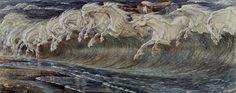 Les Chevaux de Neptune (Walter Crane)