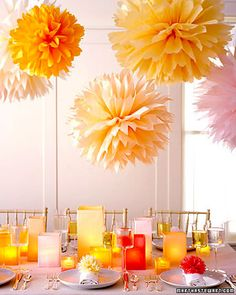 DIY 10 Ways to Decorate with Tissue Paper
