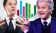 Geert Wilders takes on Mark Rutte