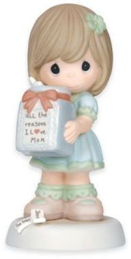 Precious Moments All the Reasons I Love Mom Girl Figurine #preciousmoments