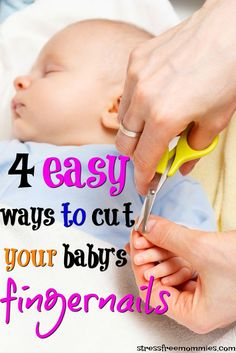 A quick guide for new moms on how to easily cut baby's fingernails. Tips for new moms to feel less scared and more confident cutting baby's fingernails. Third Baby, First Baby, Lamaze Classes, After Baby, Little Doll, Pregnant Mom, First Time Moms, Baby Hacks, Baby Tips