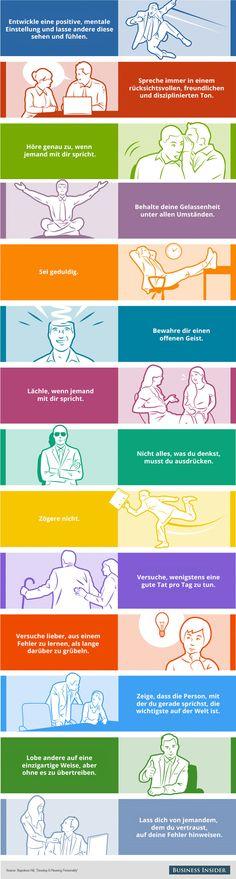 14 Gewohnheiten von außergewöhnlich beliebten Personen. Warum sind manche Menschen so beliebt bei Ihren Arbeitskollegen? Oder? Wie kann ich bei meinen Kollegen oder Geschäftspartnern beliebter werden?