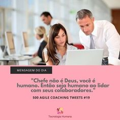 #Coaching #Gestão #Sucesso #Carreira #Tecnologia #Liderança #Msgoftheday Coaching, Instagram, Career, Getting To Know, Thoughts, Messages, Human Being, Poems, Tecnologia