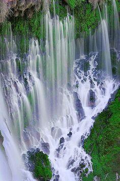 Burney Falls, McArthur-Burney Falls Memorial State Park, Shasta County, California ♡
