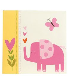 Take a look at this Pink Jungle Friends Photo Album by pepper pot on #zulily today! $17 !!