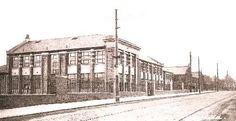 Historical image from ERC archives St. John's School Barrhead,