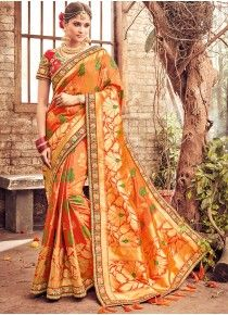 Prime Resham Work Traditional Designer Saree