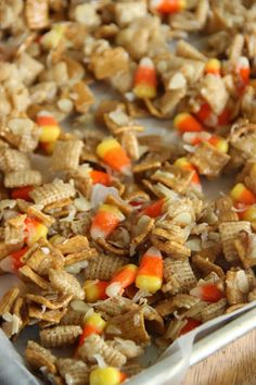 Candy Corn Crunch Recipe ~ Quick and Easy for your Fall Gathering