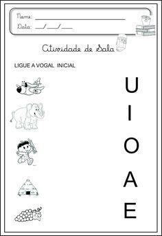 Escolinha Lúdica ::: Atividades de Alfabetização Infantil